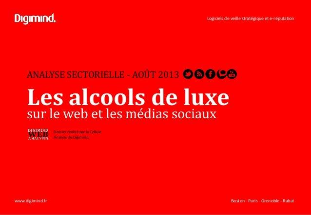 Logiciels de veille stratégique et e-réputation Boston - Paris - Grenoble - Rabatwww.digimind.fr ANALYSE SECTORIELLE - AOÛ...