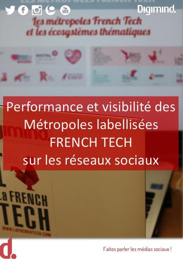 Performance et visibilité des Métropoles labellisées FRENCH TECH sur les réseaux sociaux Faites parler les médias sociaux !