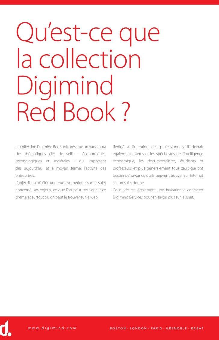 Qu'est-ce que la collection Digimind Red Book ? La collection Digimind RedBook présente un panorama         Rédigé à l'int...