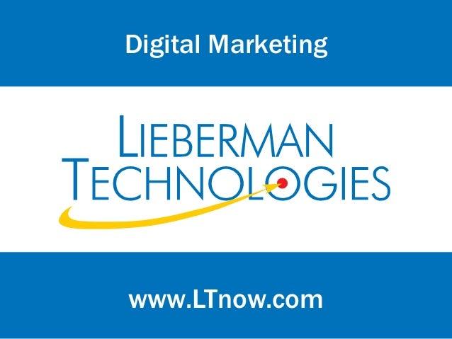 www.LTnow.comDigital Marketing