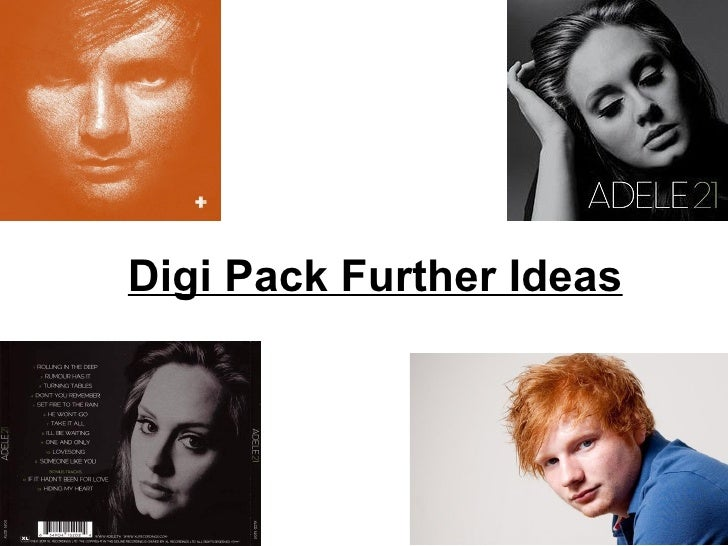 Digi Pack Further Ideas
