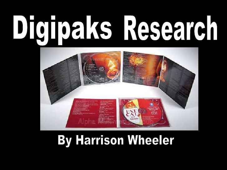Digipaks By Harrison Wheeler Research