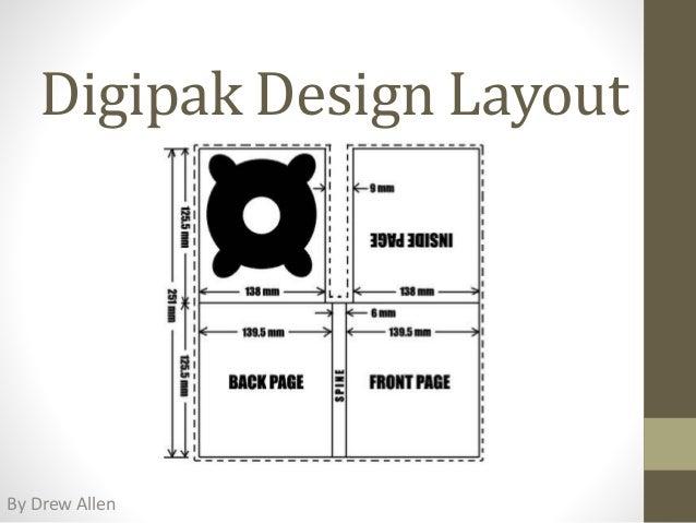 Digipak Design Layout By Drew Allen