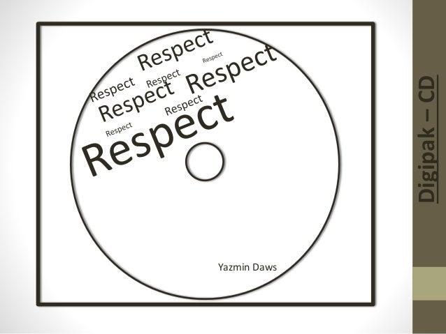 Digipak–CD Yazmin Daws