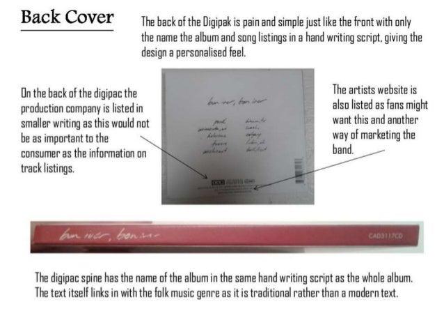 Digipak analysis 5 Slide 3