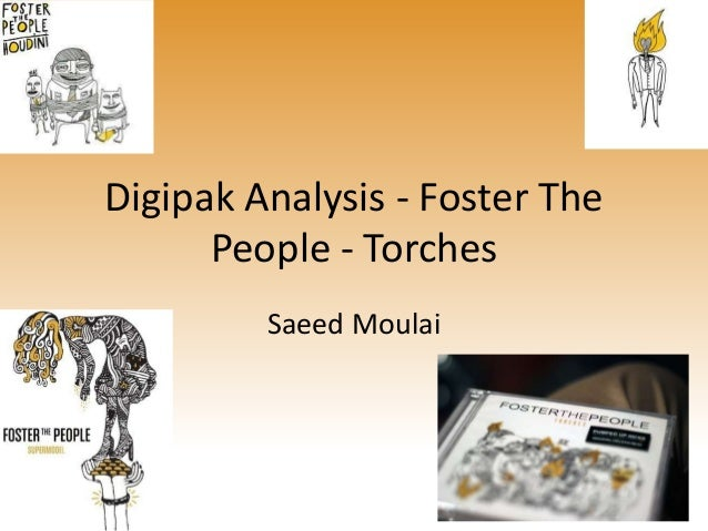 Digipak Analysis Foster The People Torches