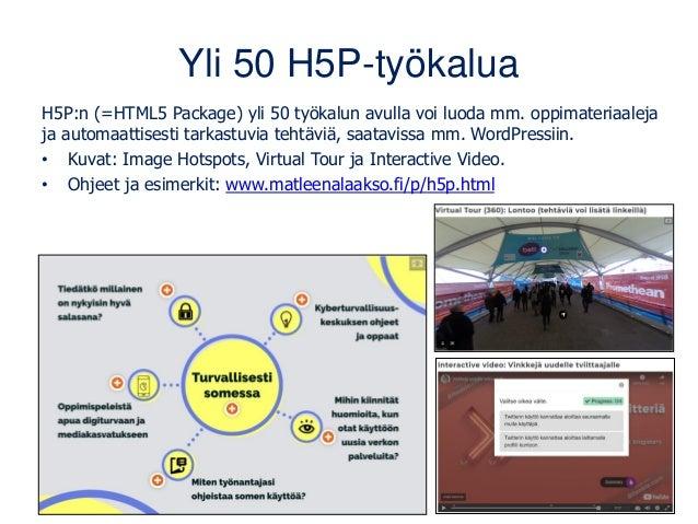www.thinglink.com • Suomalais-amerikkalainen palvelu interaktiivisten sisältöjen luomiseen. • Vain sisällön tekijä tarvits...