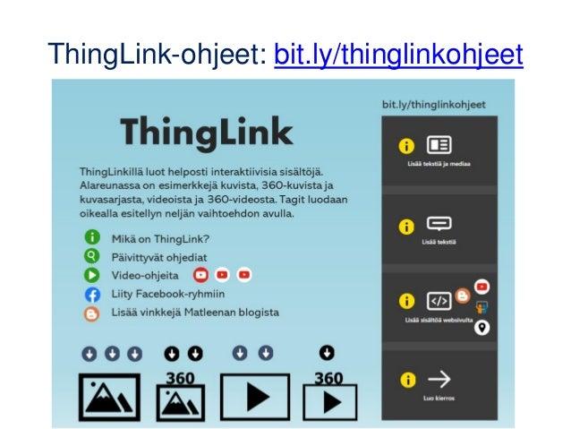 ThingLinkillä tehty virtuaalinen luokkaretki (demo) https://www.thinglink.com/scene/1417143423160287233
