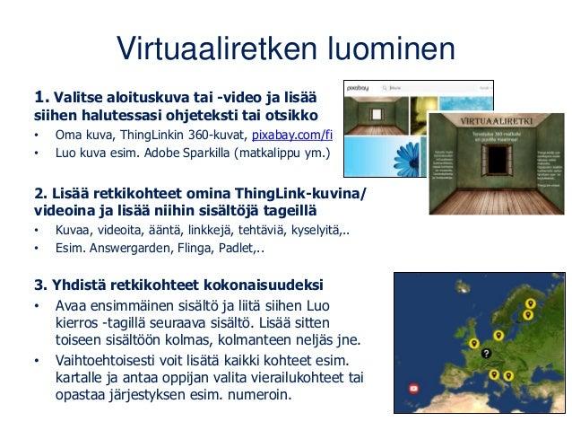 www.matleenalaakso.fi • Yli 300 bloggausta ja lisää tulossa. • Koulutusdiojen sivulla noin 30 päivittyvää materiaalipakett...