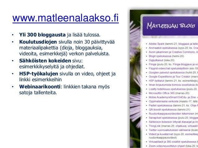 1 2 3 4 5 6 7 8 9 10 11 12 13 14 15 16 17 18 19 20 Kuvakollaasi: Matleena Laakso CC BY, kuvat: CCO, Pixabay.com