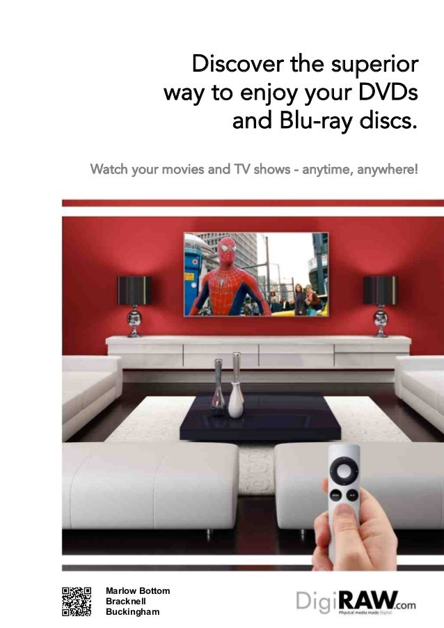 Discover the superior             way to enjoy your DVDs                   and Blu-ray discs.Watch your movies and TV show...