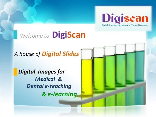 digiscan digital pathology slides e modules