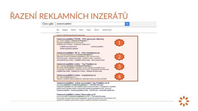HODNOCENÍ REKLAMY MAX. CPC SKÓRE KVALITY V Google AdWords do hodnocení reklamy nyní vstupují také rozšíření reklamy. ŘAZEN...