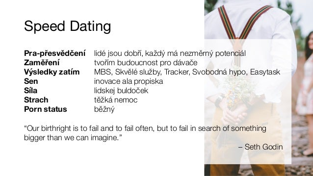 Speed dating ma