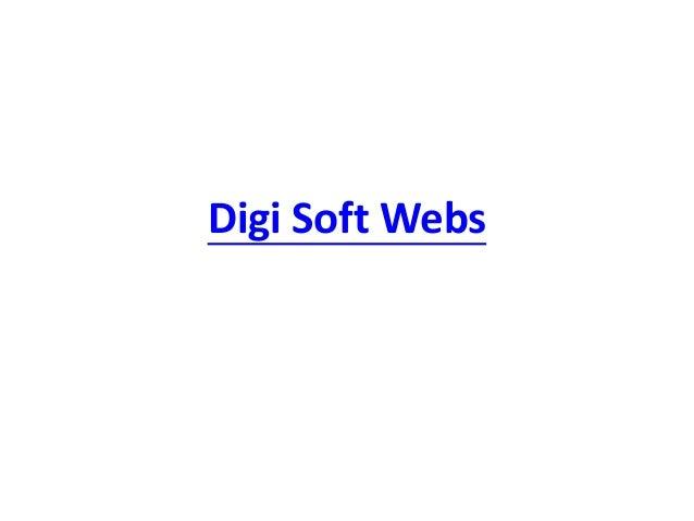Digi Soft Webs