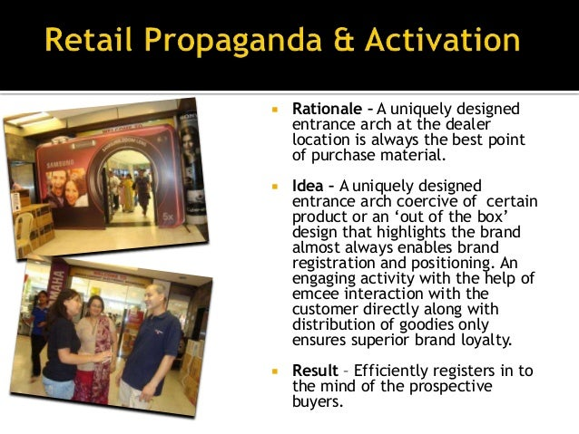 •   Rationale - In today's market the competition is    cut throat and specifically retailers hardly have    time to celeb...