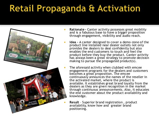 •   Rationale – An organized procession will always    attract audience and is the best way to register    in the minds of...
