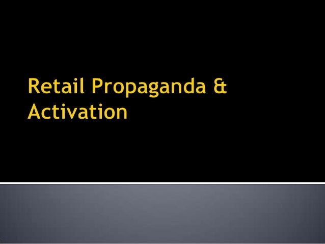    Rationale – Engaging the end user at the dealer location in a target    market enables the end user to know about the ...