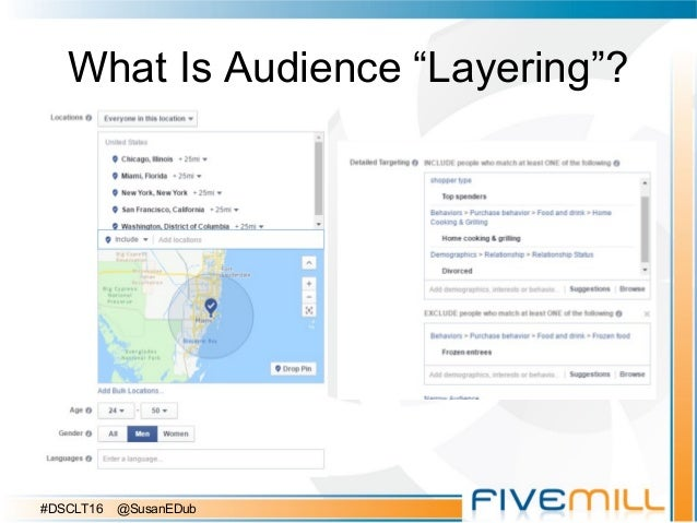 """What Is Audience """"Layering""""? #DSCLT16 @SusanEDub"""