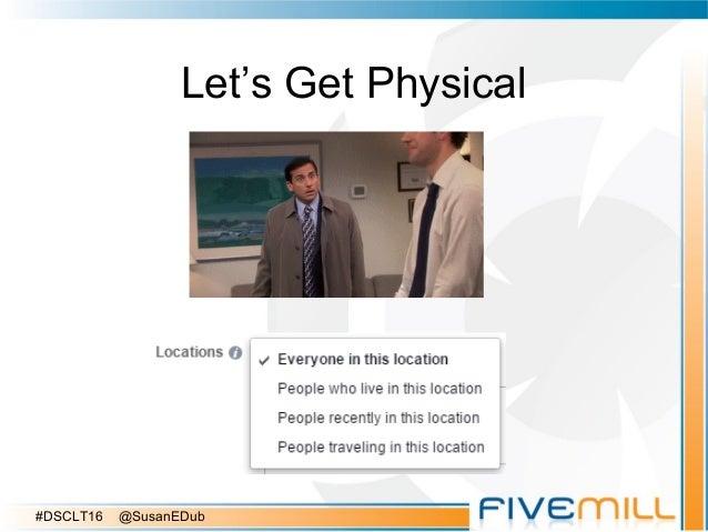 Let's Get Physical #DSCLT16 @SusanEDub