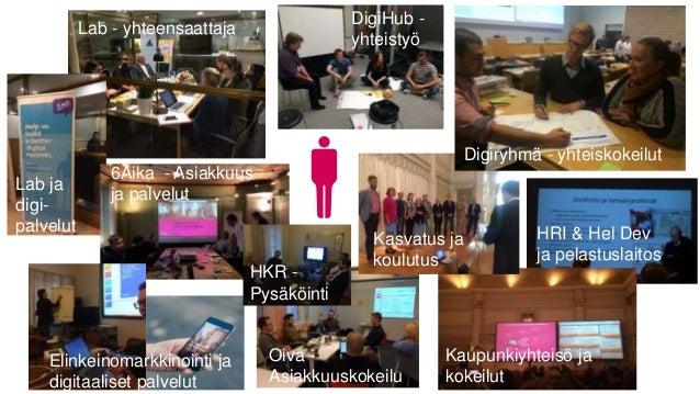 6Aika - Asiakkuus ja palvelut Elinkeinomarkkinointi ja digitaaliset palvelut Oiva - Asiakkuuskokeilu Kaupunkiyhteisö ja ko...