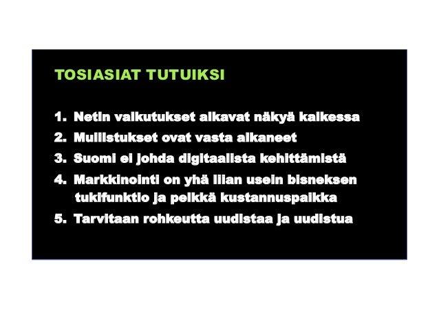 http://tivia.fi/tapahtuma/ict-investoinnit-ja-digitaalisuus-talouskasvun-ydin Elintaso (bkt/asukas) on viimeksi kasvanut y...