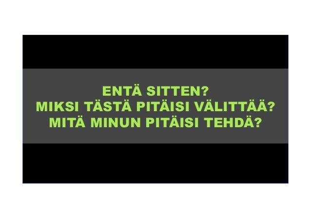 Digi-Suomi 2015 - Missä mennään?