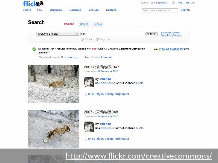 http://www.flickr.com/creativecommons/