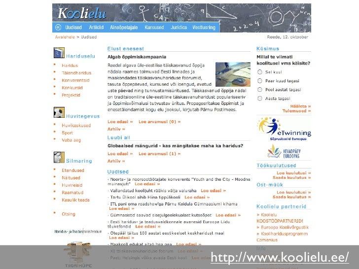 http://www.koolielu.ee/