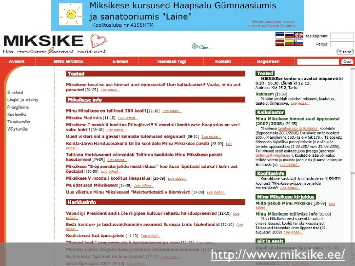 http://www.miksike.ee/