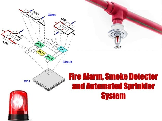 Fire alarm smoke detector and automatic sprinkle system fire alarm smoke detector and automated sprinkler system freerunsca Gallery