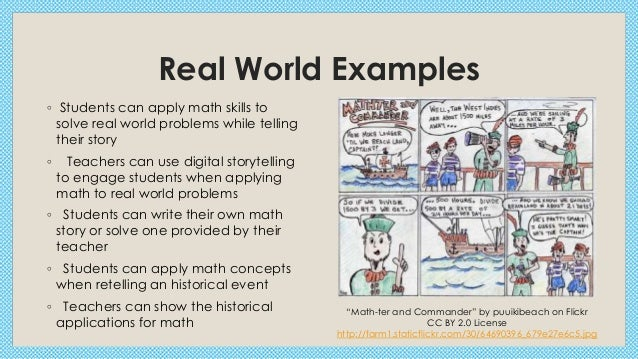 Printables Real World Math Problems Examples digital storytelling in middle school math real world examples