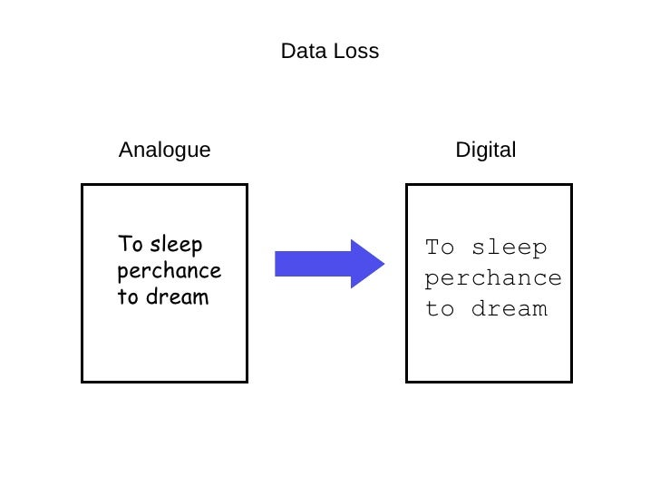 digital   analogue