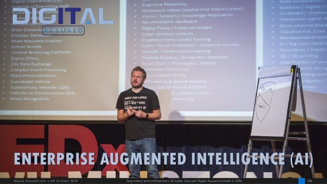 DA1Digital-Assured.com • 4th October 2018 Proprietary and confidential • All rights reserved Digital Assured Limited © 201...