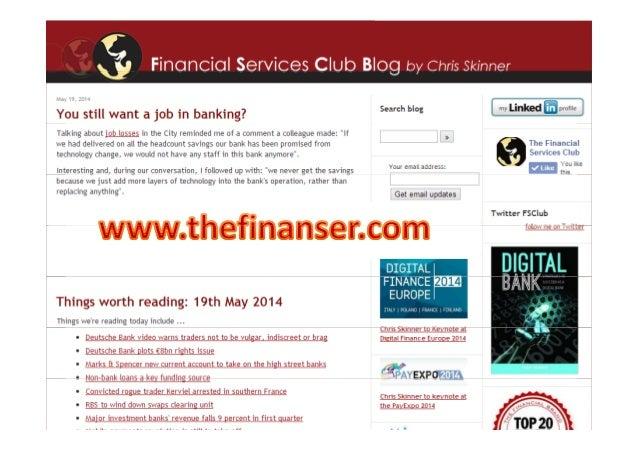 Digital Bank, May 2014 Slide 3