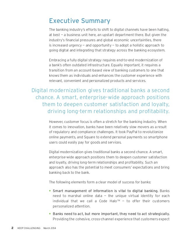 Digital Banking: Enhancing Customer Experience