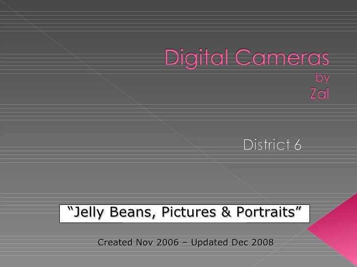 """ Jelly Beans, Pictures & Portraits"" Created Nov 2006 – Updated Dec 2008"