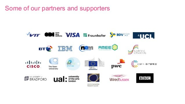 Some of our partners and supporters