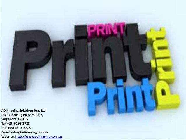 Digital Color Printing AD Imaging Solutions Pte Ltd Blk 11 Kallang Place 06 07