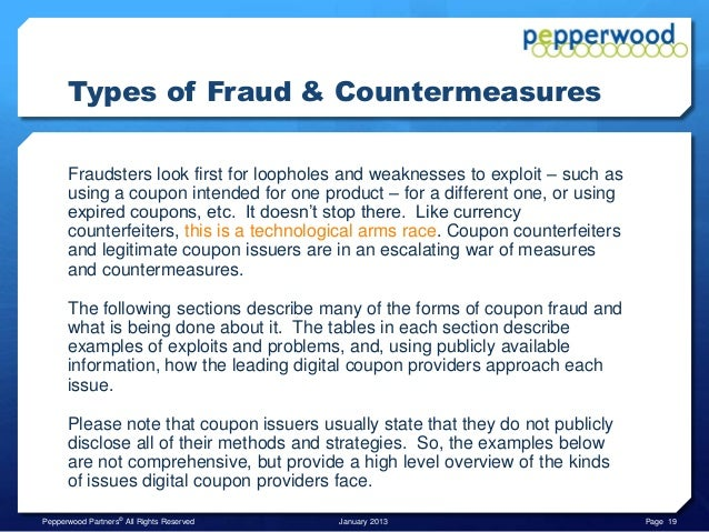 Different types of discount coupons