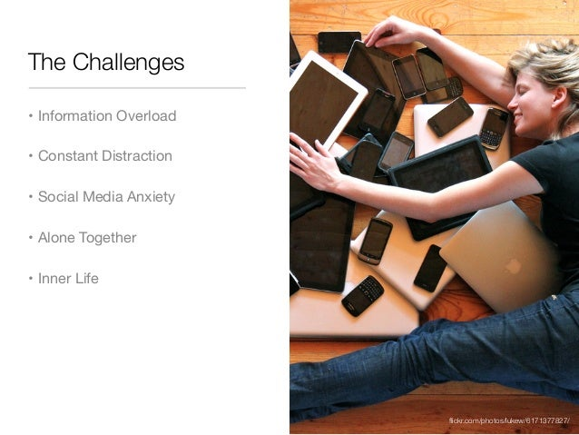 Life and the Challenges of Digital Distraction Slide 2