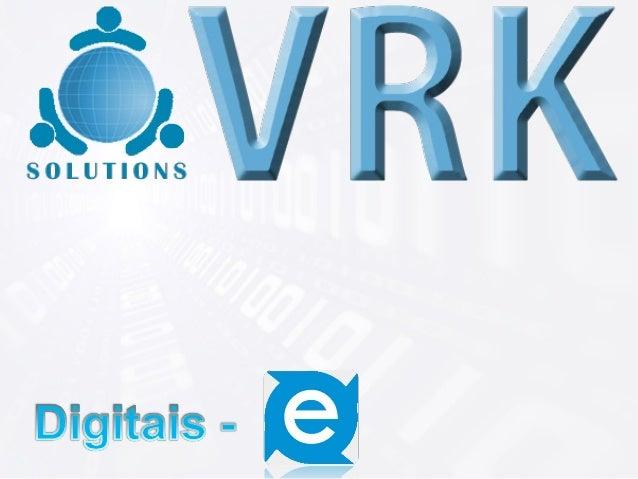 : é uma ferramenta desenvolvida pela       VRK Solutions, que tem como objetivo a       recepção, validação e integração d...