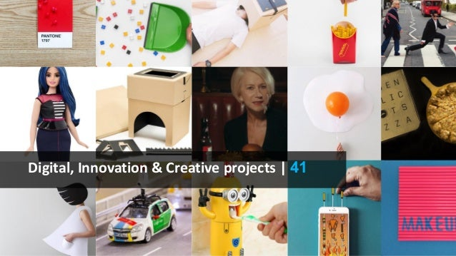 Digital, Innovation & Creative projects | 41