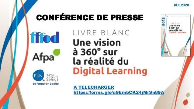 CONFÉRENCE DE PRESSE #DL2020 A TELECHARGER https://forms.gle/u9EmbCK24jMrSn89A