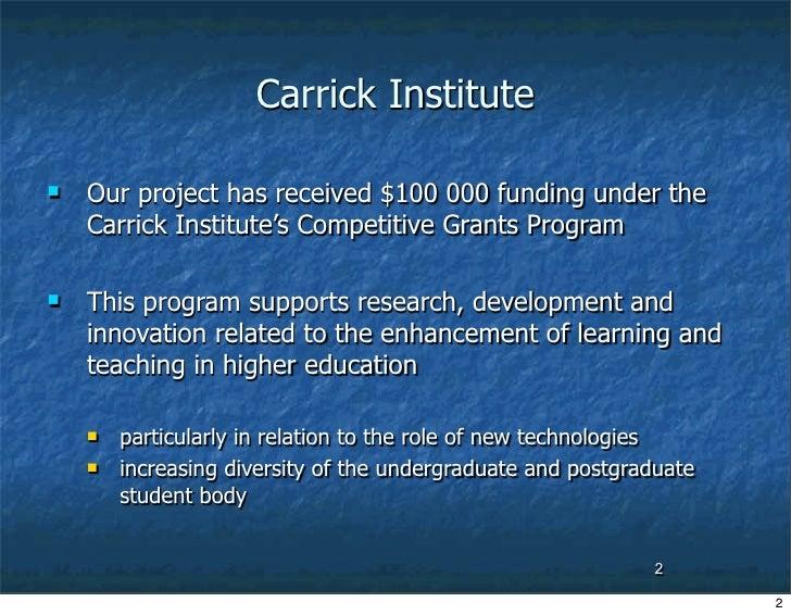 Digital Learning Communities-2006 Slide 2
