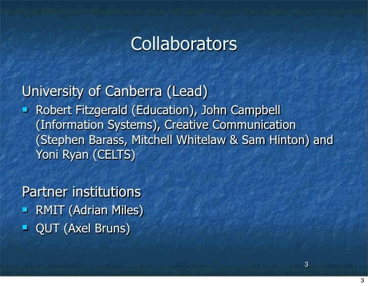 Digital Learning Communities-2006 Slide 3