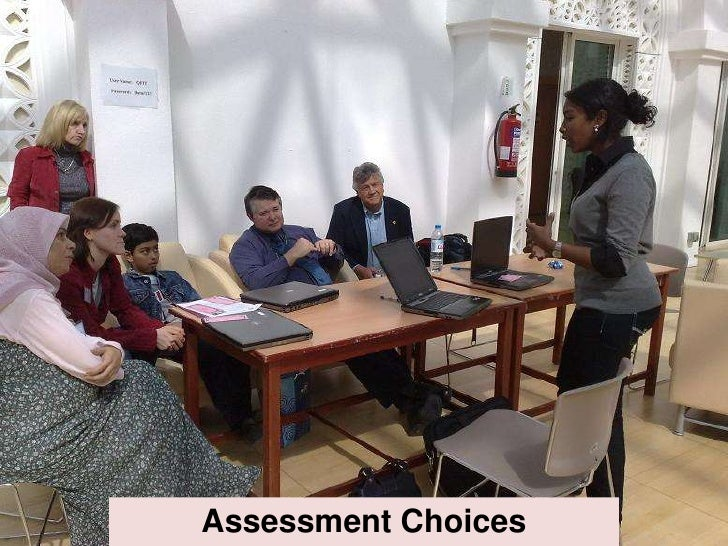 Assessment Choices
