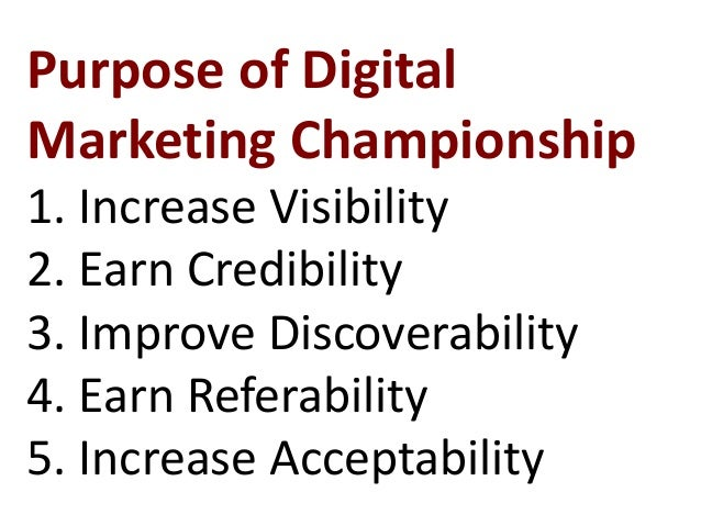Who can participate in Digital Marketing Championship? 1. Business Owners 2. Entrepreneurs 3. Top Executives