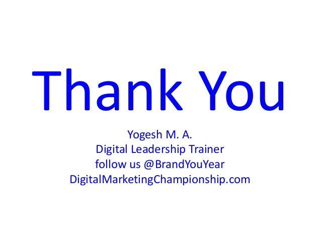 Digital Marketing Championship