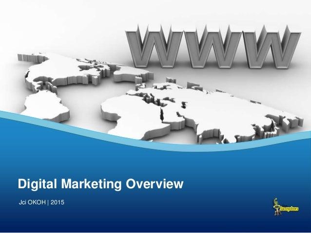 Digital Marketing Overview Jci OKOH | 2015